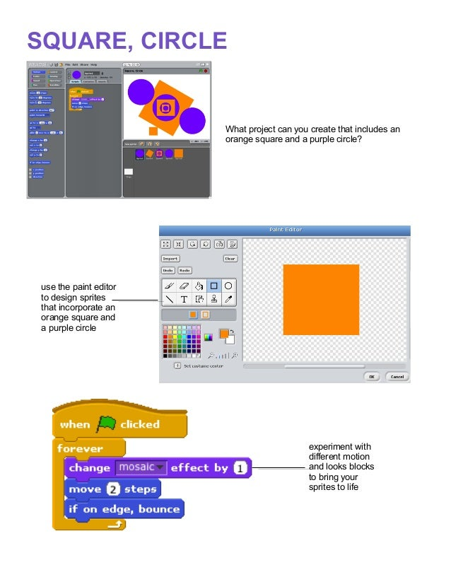 Scratch project ideas