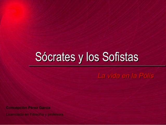 Sócrates y sofistas