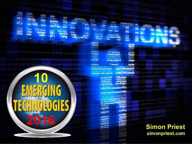 Emerging Technologies for Higher Education
