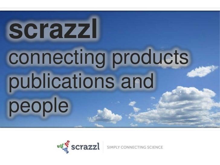 scrazzlconnecting productspublications andpeople