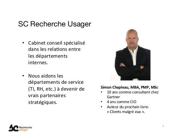 Communiquer la valeur d'affaire des TI Slide 2
