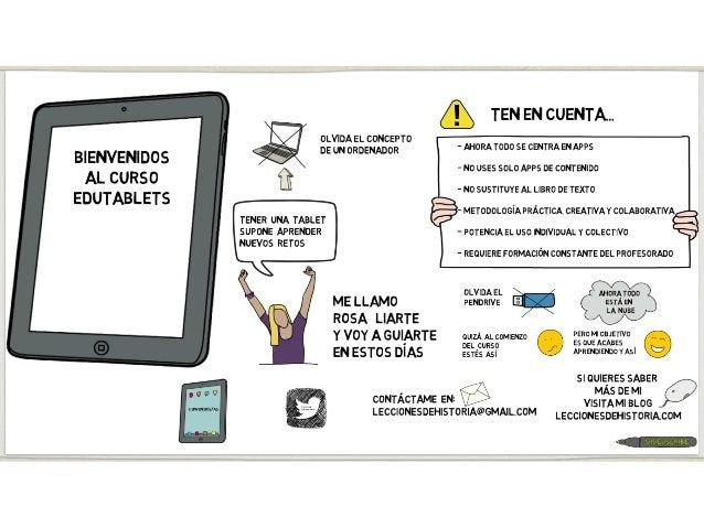 Ponencia: Aprendemos a hacer Screencast con tablets Slide 2