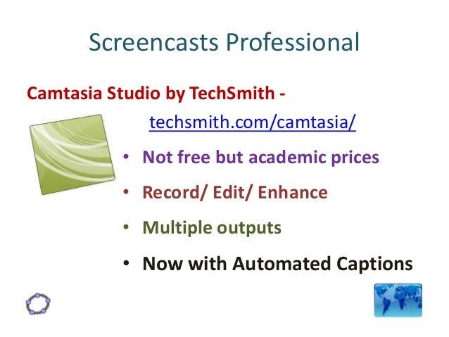 Greatly discounted price techsmith camtasia studio 7
