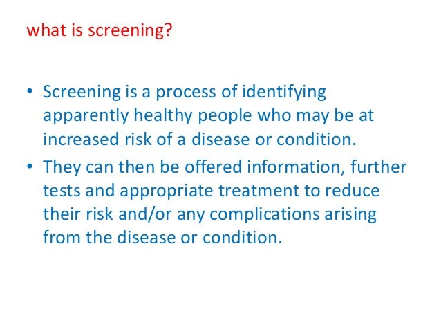 Screening of high risk pregnancy
