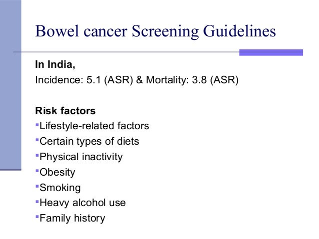 Screening And Prostate Cancer