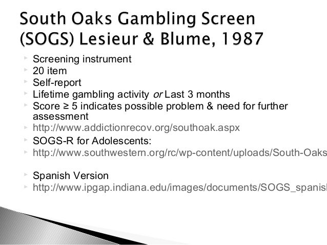 South oaks gambling screen description casino in myrtle beach sc
