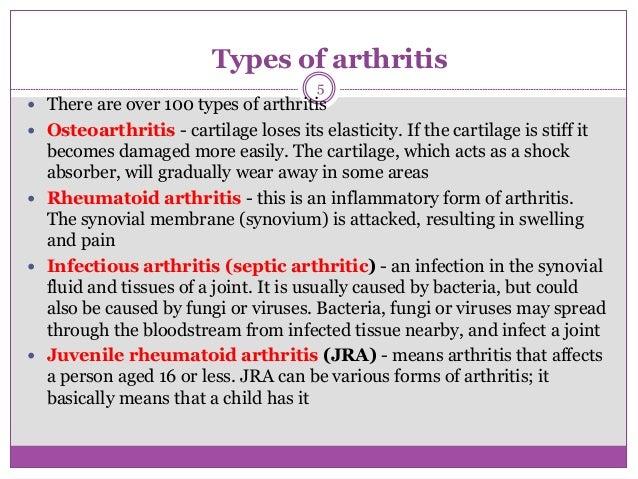 Screening methods for arthritis
