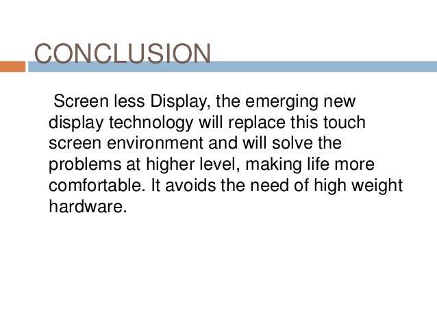 Virtual retinal display seminar report