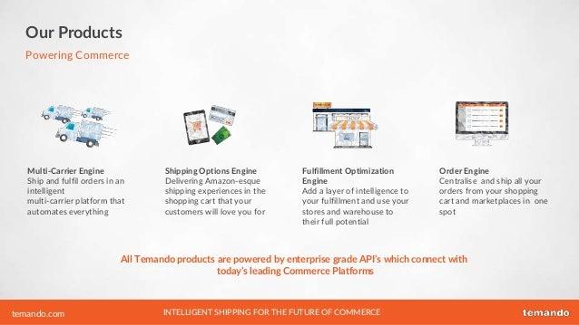 Temando - multi-carrier fulfillment service