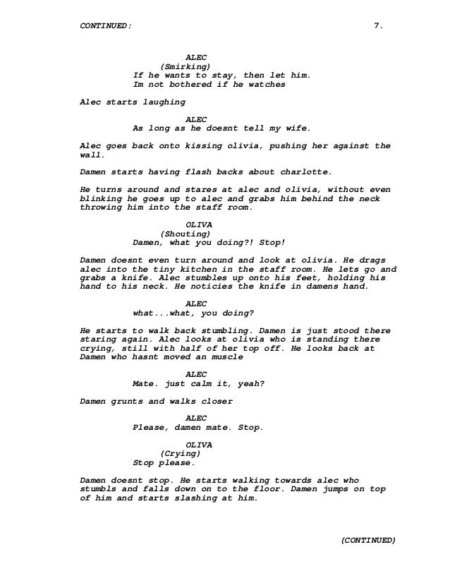 screenplay download