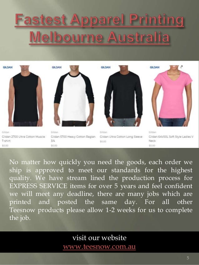 Screen printing t-shirts Melbourne Australia|https://www teesnow com …