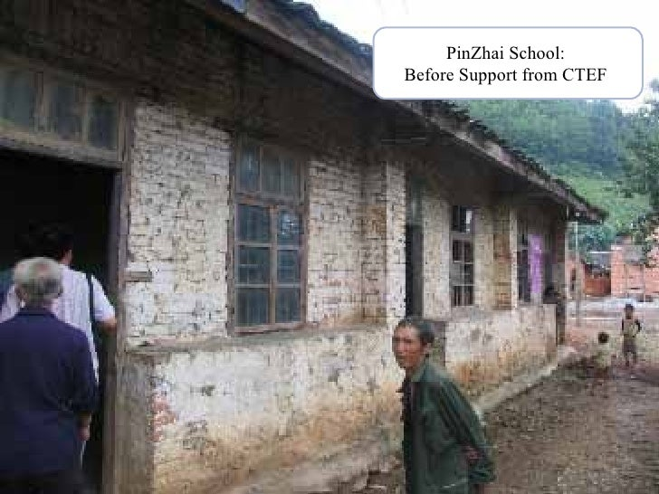 PinZhai School:  Before Support from CTEF