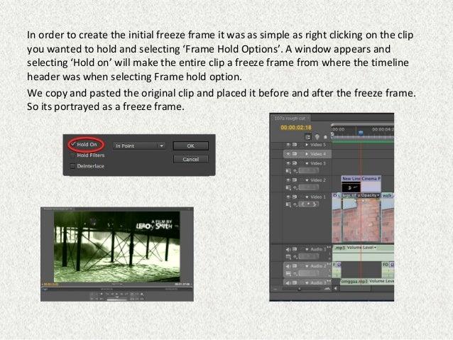 Adobe Premiere Construction Screenshots