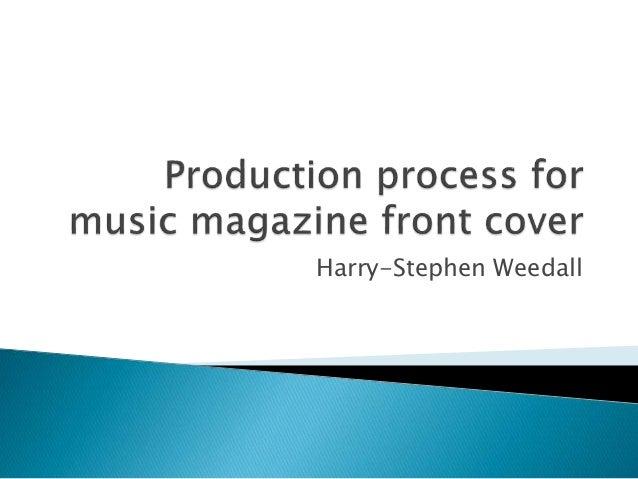 Harry-Stephen Weedall