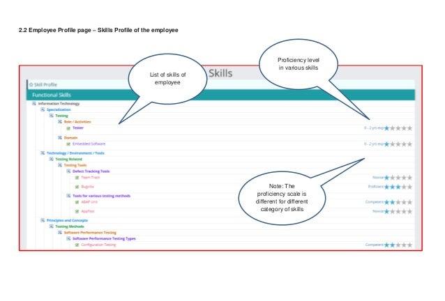 Enterprise Skills Management