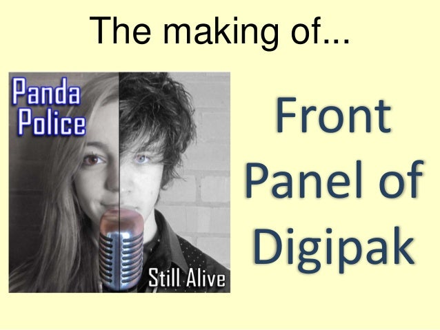 The making of... Front Panel of Digipak