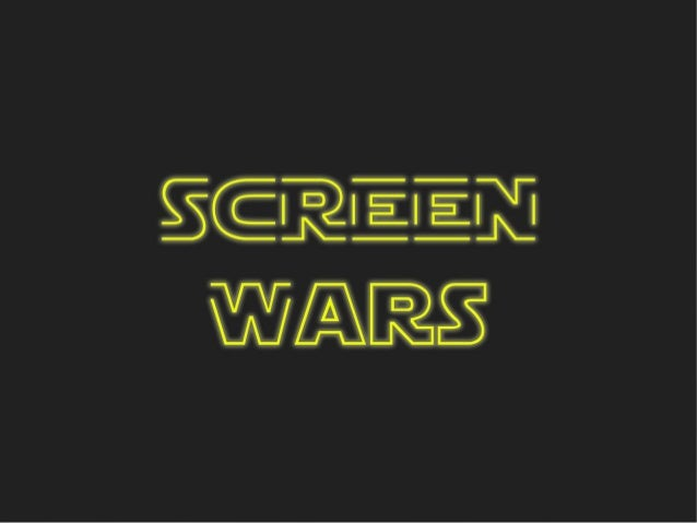 Screen Wars pilot Screentime GmbH 1