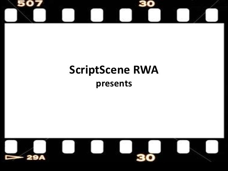 ScriptScene RWApresents<br />