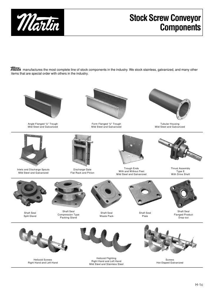 Thomas screw conveyor design