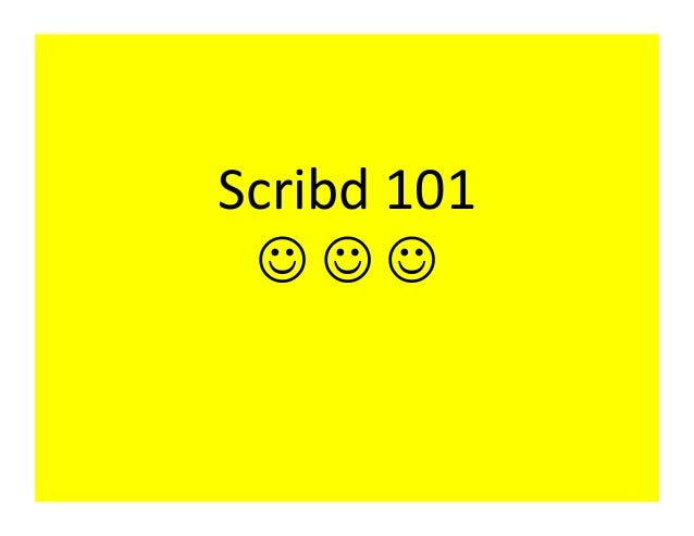 Scribd101 