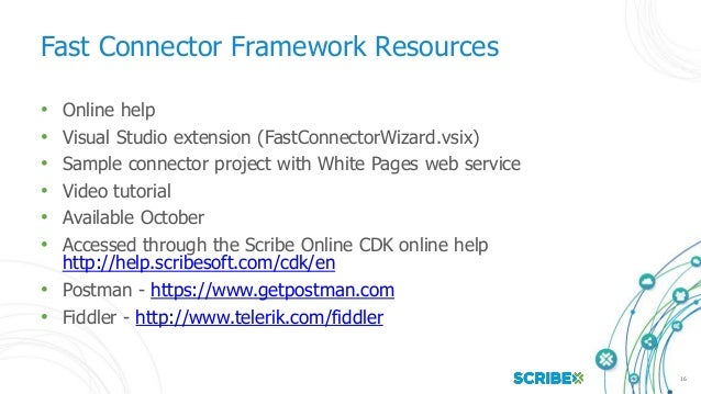 Scribe online 03 scribe online cdk and api overview