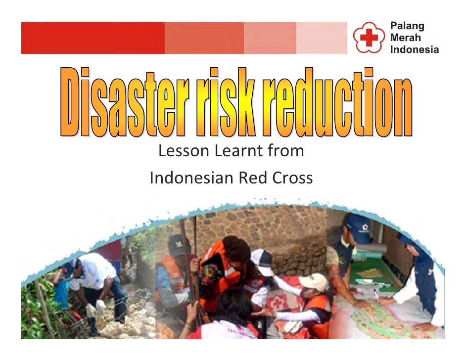 Lesson Learnt from Indonesian Red Cross