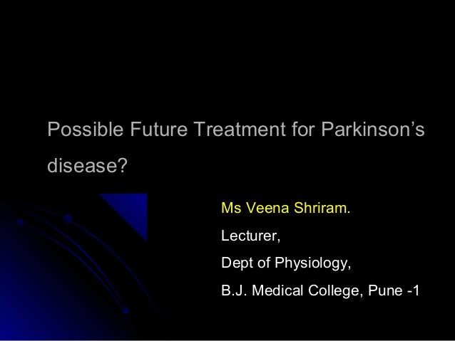 Stem cell research in Parkinson's Disease