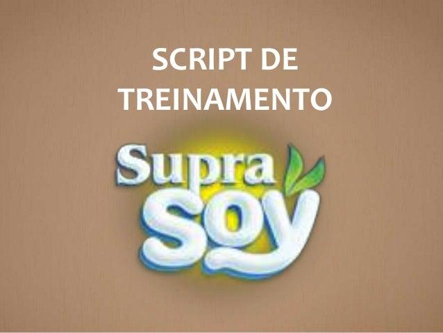 SCRIPT DE TREINAMENTO