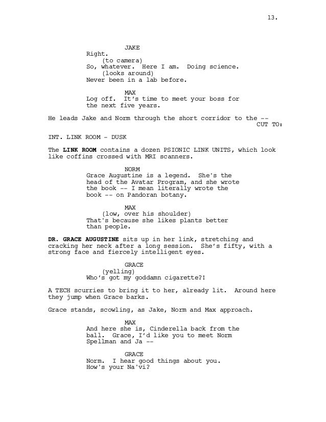 Script Avatar 2007 Pretty Resume Templates Resume Ideas