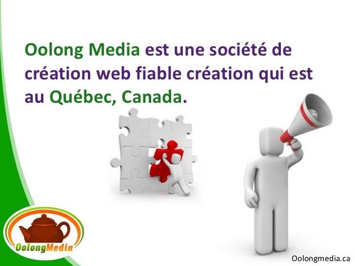 Agence conception de sites internet au Québec-Oolong Media Slide 2