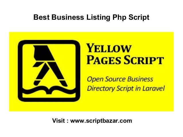 Best Business Listing Php Script Visit : www.scriptbazar.com