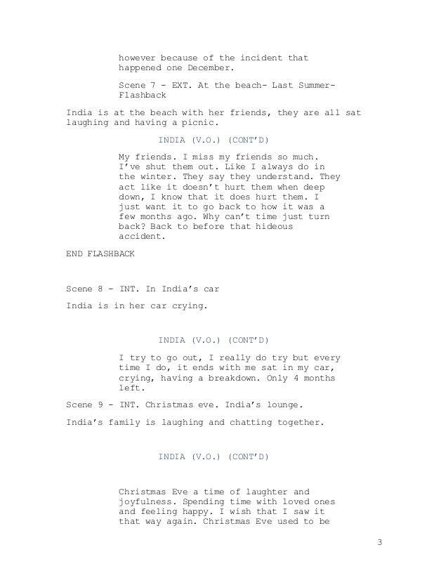 Back draft scene two