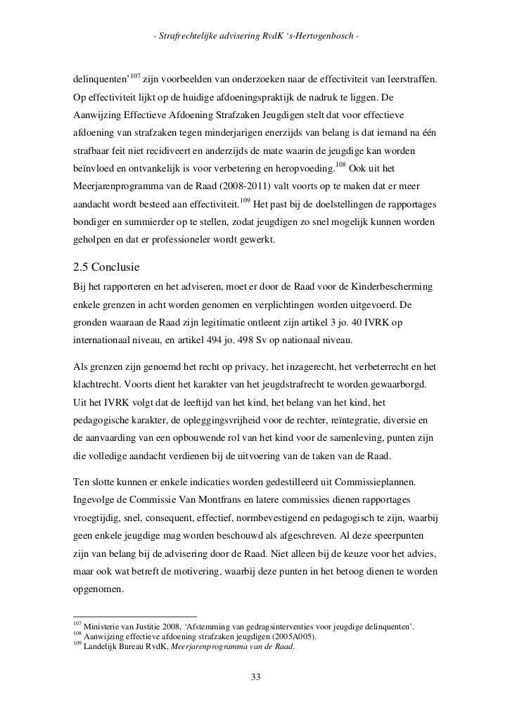 voorwoord thesis rechten