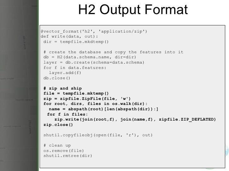 Scripting GeoServer with GeoScript