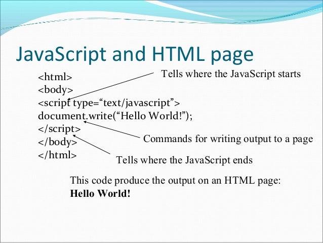 SCRIPTING LANGUAGE IN HTML PDF
