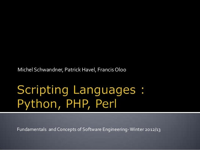 Michel Schwandner, Patrick Havel, Francis OlooFundamentals and Concepts of Software Engineering-Winter 2012/13