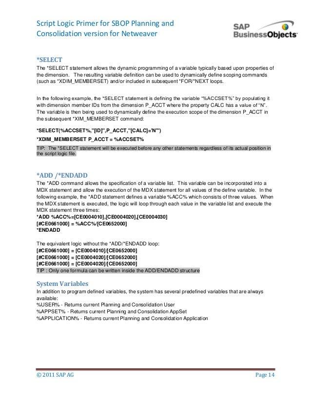Script logic primer-bpc_nw