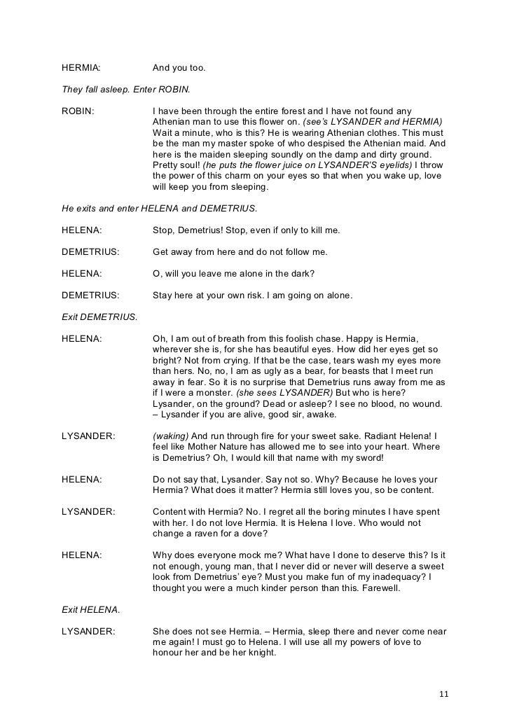 Script midsummer