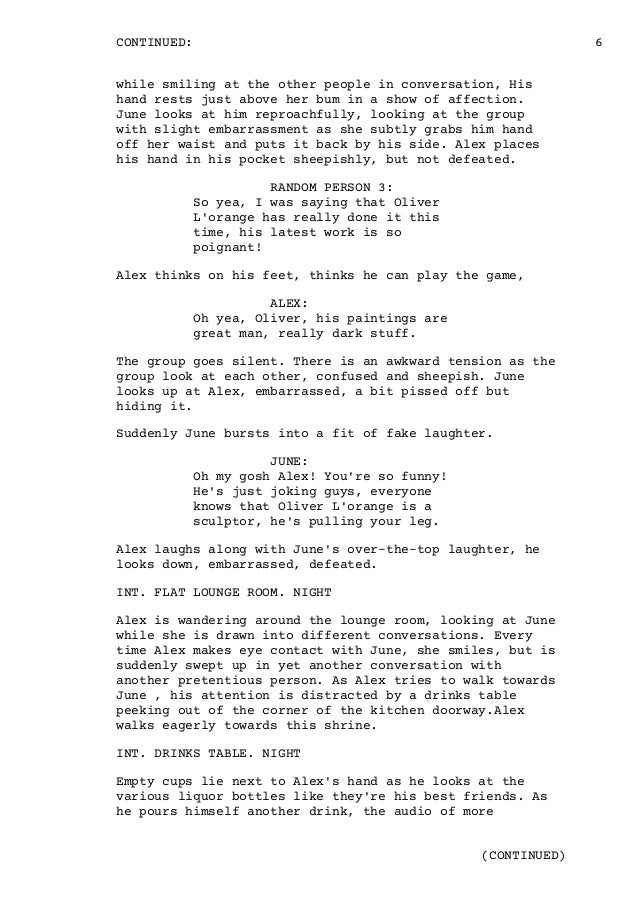 movie script editing services