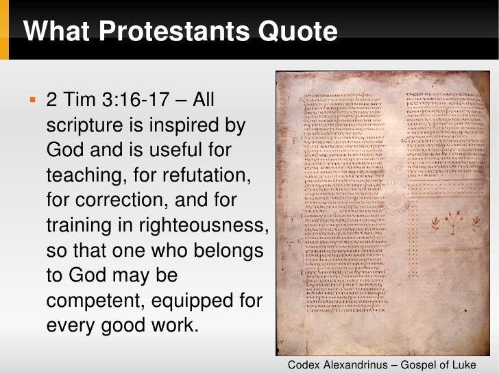 Scripture Tradition Slide 3