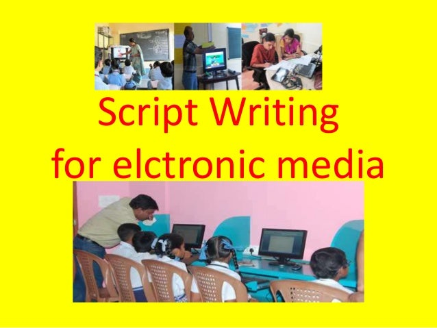 writing for electronic media