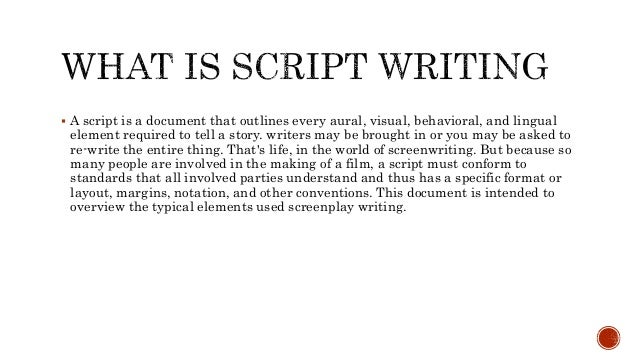 Understanding the Screenplay Format and How to use MS Word to write Scripts (Part One)