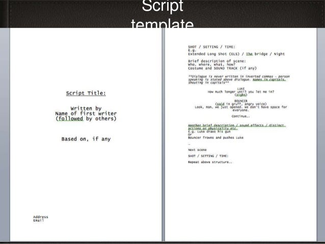 Sample Script Storyboard. 3 Music Video Script Music Video