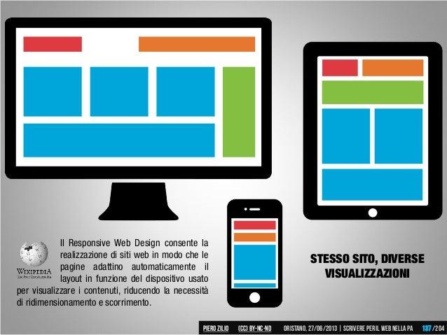 Il Responsive Web Design consente la realizzazione di siti web in modo che le pagine adattino automaticamente il layout in...