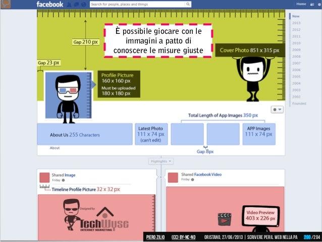 È possibile giocare con le immagini a patto di conoscere le misure giuste Piero ZILIO /204Oristano,27/06/2013| Scrivere pe...