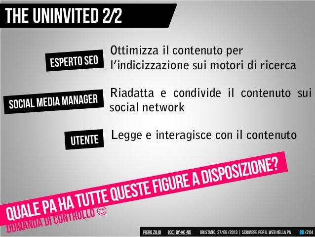Ottimizza il contenuto per l'indicizzazione sui motori di ricerca Riadatta e condivide il contenuto sui social network Leg...