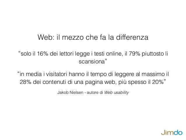 Scrivere per il web: 5 errori fatali della comunicazione digitale Slide 2