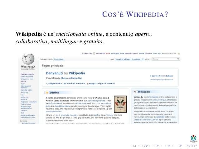 Confronto del sito di incontri wiki