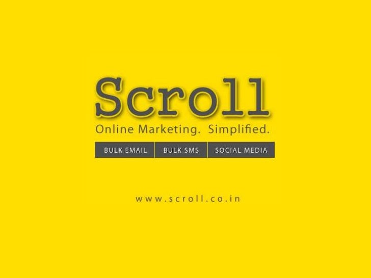 Scroll Features