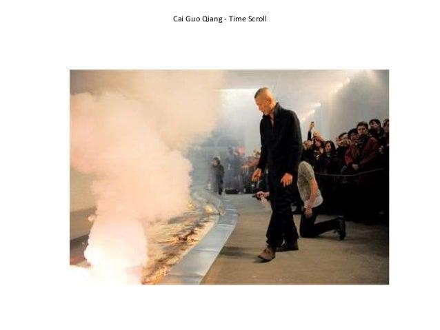 Cai Guo Qiang - Time Scroll